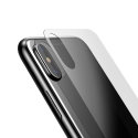 BASEUS-GLASSBACKIPX - Verre trempé arrière pour le dos iPhone X