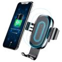 BASEUS-GRAVITYQI - Support voiture avec charge sans fil pour smartphone de Baseus Gravity Qi