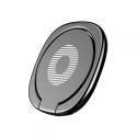 BASEUS-RINGSUMQ-01 - Baseus Anneau Privity Ring métal noir pour sécuriser la prise en main de votre smartphone