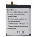 BATTERIE-NOKIA31 - Batterie compatible Nokia 3.1 de 2900 mAh