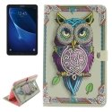 BOOKT580-CHOUETTE - Etui Galaxy Tab-A 10-1 version 2016 rabat fonction stand chouette