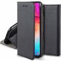 BOOKX-A225GNOIR - Etui Galaxy A22-5G rabat latéral fonction stand coloris noir