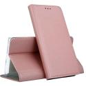BOOKX-A324GROSE - Etui Galaxy A32-4G rabat latéral fonction stand coloris rose