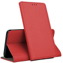 BOOKX-OPPOA53ROUGE - Etui Oppo A53/A53s rabat latéral fonction stand coloris rouge
