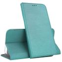 BOOKX-PSMART2020TURQ - Etui P-SMART 2020 rabat latéral fin fonction stand coloris turquoise