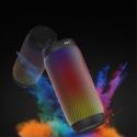 Enceinte nomade Bluetooth BQ615à LEDS couleurs 6W coloris noir