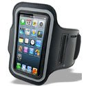 BRASSARDIP5TR8 - Housse de sport type brassard iPhone 5/5s/SE fixation velcro