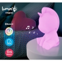 Enceinte bluetooth Licorne lumineuse multicolor