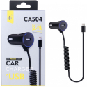 CA504-CACPIX - Chargeur allume cigare iphone + seconde prise USB