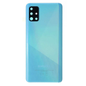 CACHE-A51BLEU - Face arrière (dos) bleu pour Galaxy A51