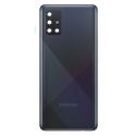 CACHE-A51NOIR - Face arrière (dos) noire pour Galaxy A51