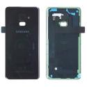 CACHE-A82018NOIR - Dos Samsung Galaxy A8 2018 en verre coloris noir