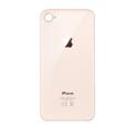 CACHE-IP8GOLD - Vitre arrière (dos) iPhone 8 coloris gold en verre