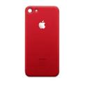 CACHE-IP8ROUGE - Vitre arrière (dos) iPhone 8 coloris rouge en verre