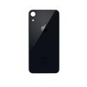 CACHE-IPXRNOIR - Vitre arrière (dos) iPhone XR coloris noir en verre
