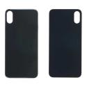 CACHE-IPXSNOIR - Vitre arrière (dos) iPhone Xs coloris noir en verre