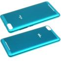 CACHE-LENNY3BLEU - Cache arrière Wiko Lenny-3 coloris bleu origine Wiko
