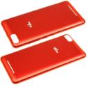 CACHE-LENNY3ROUGE - Cache arrière Wiko Lenny-3 coloris rouge origine Wiko