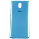 CACHE-LENNY5BLEU - Cache arrière Wiko Lenny-5 coloris bleu origine Wiko