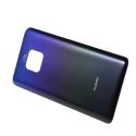 CACHE-MATE20BLEU - Dos cache arrière Huawei Mate-20 en verre bleu