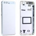 CACHE-P10BLANC - Dos cache arrière Huawei P10 blanc aluminium