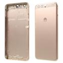 CACHE-P10GOLD - Dos cache arrière Huawei P10 gold aluminium