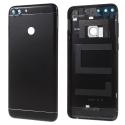 CACHE-PSMARTNOIR - Dos cache arrière Huawei P Smart aluminium noir