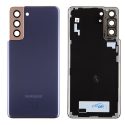 CACHE-S21VIOLET - Cache batterie vitre arrière origine Samsung Galaxy S21(5G) coloris Phantom Violet