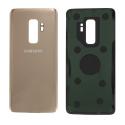 CACHE-S9PLUSGOLD - Face arrière dos gold Samsung Galaxy S9-Plus SM-G965