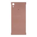 CACHE-XA1ROSE - Cache arrière Sony Xperia-XA1 coloris rose doré