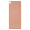 CACHE-XAROSE - Cache arrière Sony Xperia-XA coloris rose doré