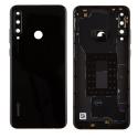 CACHE-Y6PNOIR - Cache batterie (dos) pour Huawei Y6p noir