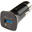 CACQC30 - Bouchon allume cigare QuickCharge 3.0