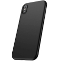 CAFELE-GELIPXNOIR - Coque souple pur iPhone XS en gel flexible enveloppant noir