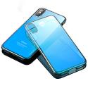 CAFELE-IPXDEGBLEU - Coque fine pour iPhone XS dégradée bleu