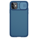 CAMSHIELD-IP11BLEU - Coque CamShield iPhone 11 avec protection appareil photo coulissante coloris bleu