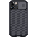 CAMSHIELD-IP12MININOIR - Coque CamShield iPhone 12 Mini avec protection appareil photo coulissante