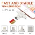 CARDREADER-MULTI - Lecteur de carte mémoire pour Tablette et Smartphone iPhone Android