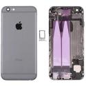CHASSIS-IP6PLUS-GREY - Chassis complet iPhone 6 Plus pré-monté avec nappes + boutons coloris Gris foncé