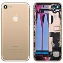 CHASSIS-IP7GOLD - Chassis complet iPhone 7 pré-monté avec nappes + boutons coloris gold