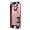 CHASSIS-IPSEROSE - Chassis complet pré-monté pour iPhone SE coloris rose gold