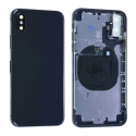 CHASSIS-IPXNOIR - Châssis iPhone X + boutons coloris noir