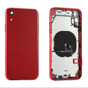 CHASSIS-IPXRROUGE - Châssis avec nappes boutons iPhone XR coloris rouge