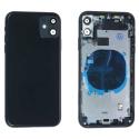 CHASSISNAPPE-IP11NOIR - Châssis complet avec nappes iPhone 11 coloris noir