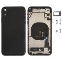 CHASSISNAPPE-IPXRNOIR - Châssis complet avec nappes iPhone XR + boutons coloris noir