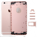 CHASSISVIDEIP6S-ROSE - Chassis complet iPhone 6s rose gold sans nappes