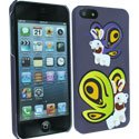 CLCIP5BUTTERFLY - Coque Butterfly Lapins Cretins pour iPhone 5