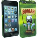 CLCIP5FOOTSUPPOR - Coque Supporter Lapins Cretins pour iPhone 5