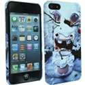 CLCIP5WINTER - Coque Winter Lapins Cretins pour iPhone 5