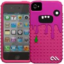 CMMONSTAROSE-IP4S - Coque Case-Mate Monsta Rose Cr�ature pour iPhone 4S